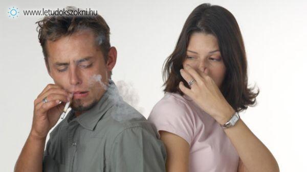 A passzív dohányzás épp olyan káros, mint az aktív