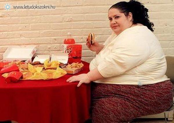A túlevés az egyik leggyakoribb étkezési rendellenesség